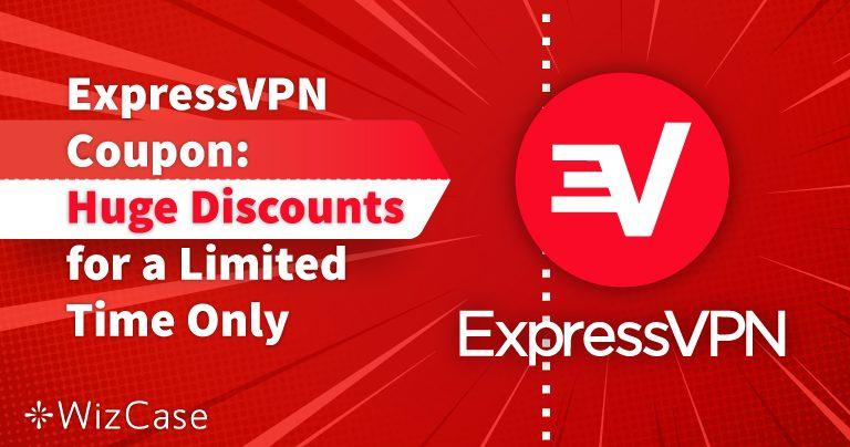 קופון ל-ExpressVPN עדכני לשנת 2020: קבלו עד 49% הנחה היום!